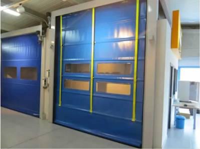 Puertas Rápidas Pleglables PR15