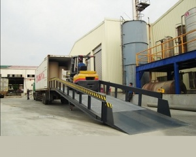 Rampa de Carga INKEMA, 12 metros de extensión