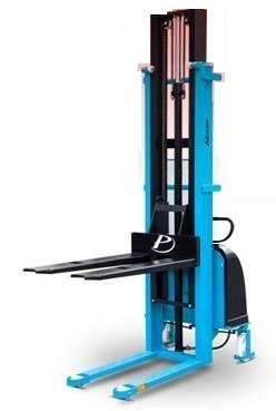 Apilador Semieléctrico Modelo LE 1000kg. de capacidad de carga