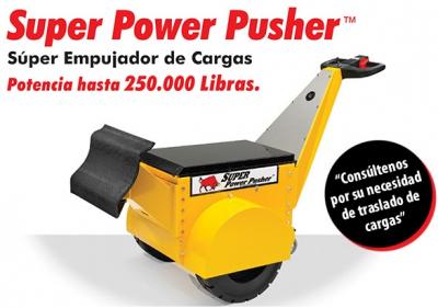 Súper Power Pusher. Empujador de Cargas. Made in USA